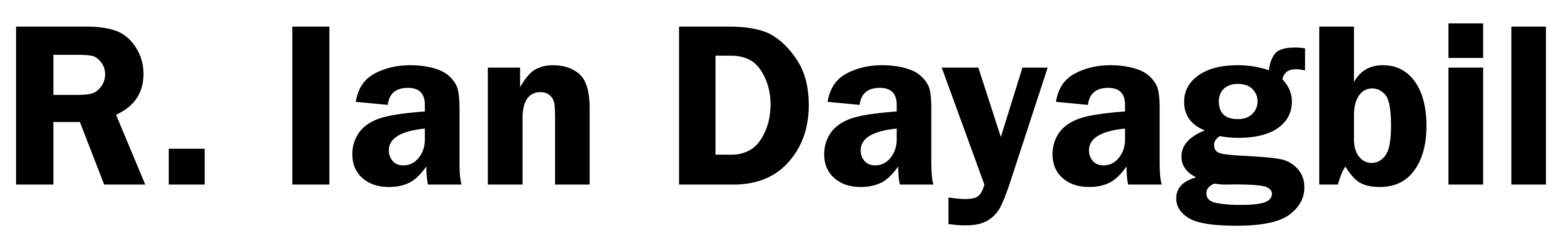 Ian Dayagbil